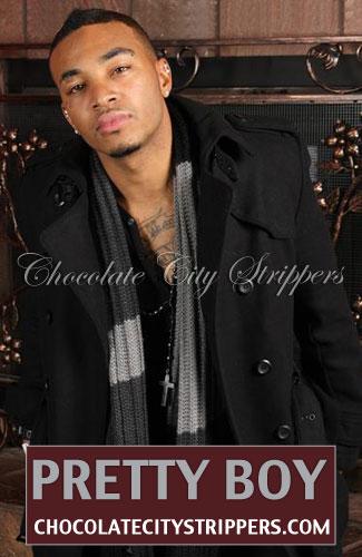 Pretty Boy Black Male Strippers in California